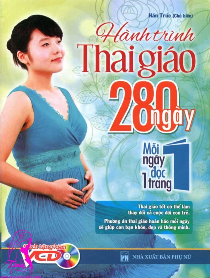 sách hành trình thai giáo 280 ngày