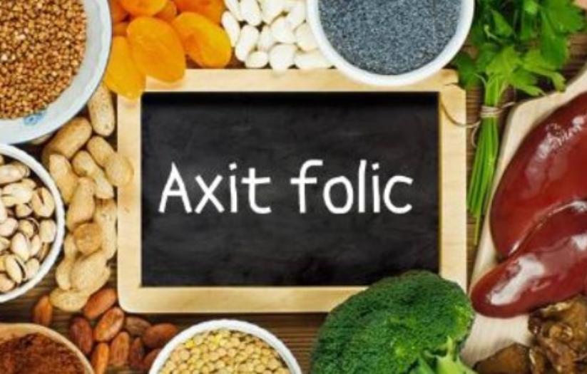 thực phẩm cung cấp Axit folic