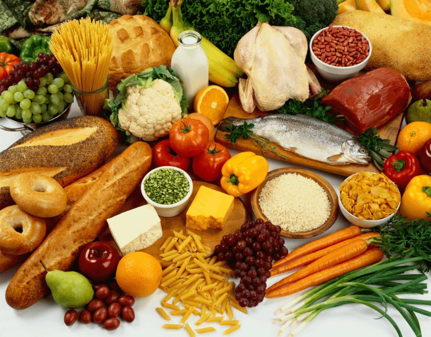 thực phẩm giàu protein và khoáng chất