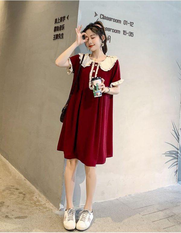 Váy Bầu Suông Đẹp, Sang Chảnh 2021 (Siêu Dễ Thương) 1