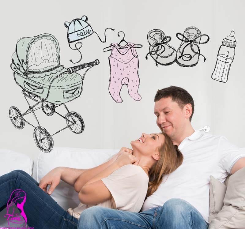 những điều cần phải biết khi vợ mang thai lần đầu