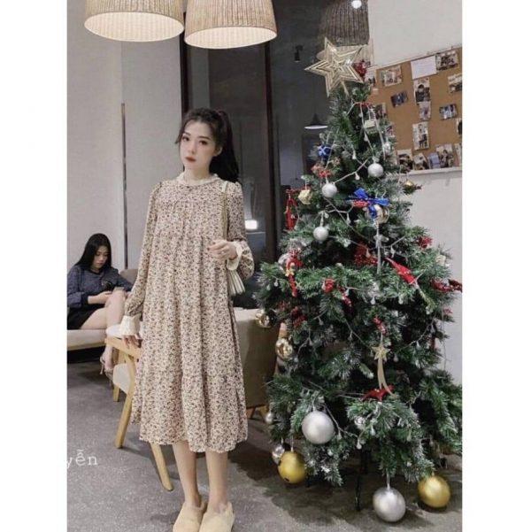 Váy Bầu Đi Ăn Cưới Đẹp Sang Trọng 2021 (RẤT THỜI TRANG) 1