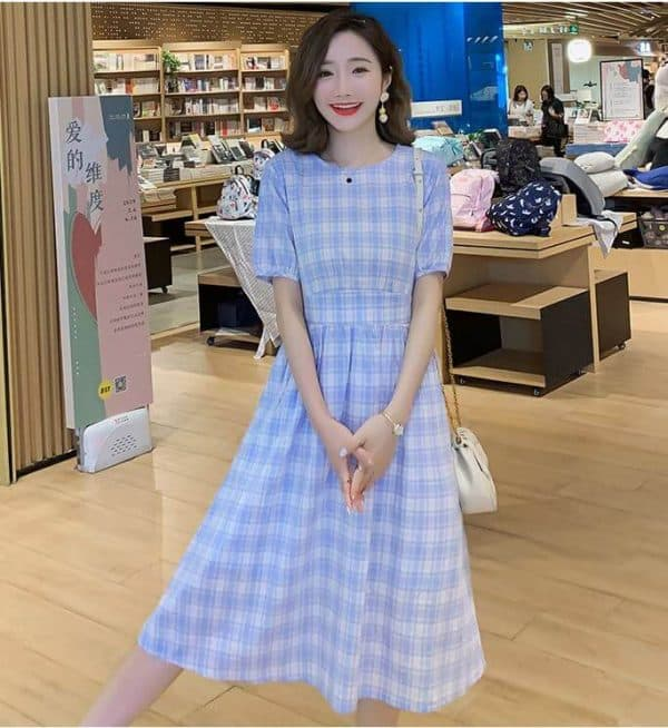 váy bầu công sở Hàn Quốc