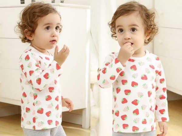 áo thun cho trẻ sơ sinh cưc dễ thương