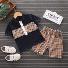 Quần áo cho bé trai 3 tháng tuổi họa tiết dễ thương giá rẻ, thiết kế nhiều mẫu. 1